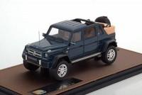 1:43 MERCEDES-Maybach G650 4х4 Landau (W463) (открытый) 2017 Blue