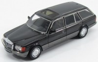 1:43 MERCEDES-BENZ 560SEL Kombi (W126) 1990 Black