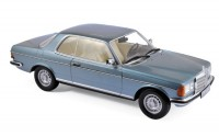 1:18 MERCEDES-BENZ 280CE Coupe (C123) 1980 Blue Metallic