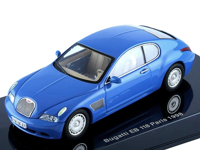 1:43 Bugatti EB 118 Paris 1998 (french racing blue)