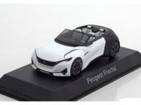 1:43 PEUGEOT Cabriolet Concept Car Fractal Salon de Francfort 2015