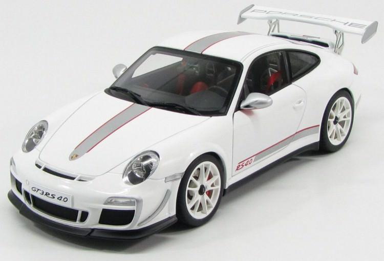 1:18 Porsche 911 (997) GT3 RS 4.0 2011 (white)