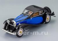 1:43 Bugatti T 50 (black / blue)
