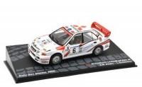 1:43 MITSUBISHI Lancer RS Evo III #6 Bedini/Tedeschini Rally San Marino 1996