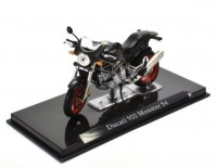 1:24 мотоцикл DUCATI 900 Monster S4 Black