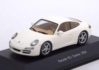 1:43 PORSCHE 911 Carrera (997) 2004 White