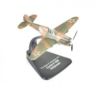 "1:72 Curtiss P-40E ""Kittyhawk'' Дважды Героя Советского Союза Петра Афанасьевича Покрышева 154 ИАП (29 побед) Ленинградский фронт лето 1942"