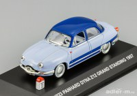 1:43 Panhard Dyna Z12 Grand Standing 1957 (2 tone blue)