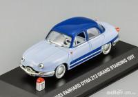 1:43 Panhard Dyna Z12 Grand Standing 1957 (2 tone blue)