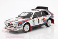"""1:18 LANCIA Delta S4 #9 """"Martini"""" Biasion/Siviero Rally Monte Carlo 1986"""
