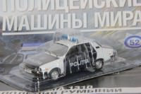 1:43 # 52 Dacia 1310 Полиция Румынии