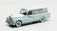 "1:43 MERCEDES-BENZ 300D (W189) Visser Ambulance VZA ""Dora"" (медицинская помошь) 1961 Light Blue"