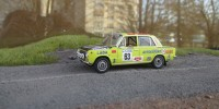 1:43 LADA-2101 S. Brundza, A. Zvingevits Rally of 1000 Lakes Finland 1975