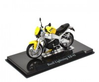 1:24 мотоцикл BUELL Lightning XB-9S Yellow