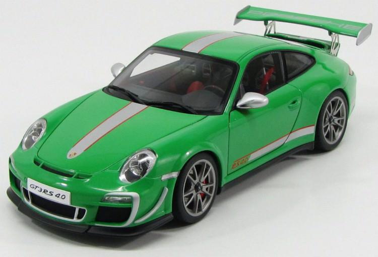 1:18 Porsche 911 (997) GT3 RS 4.0 2011 (green)