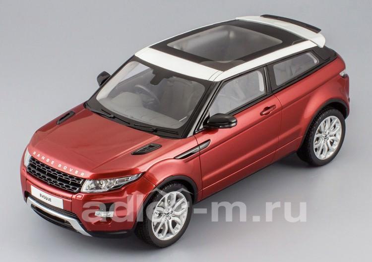 1:18 Range Rover Evoque 2011 (firenze red met)