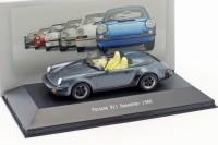 1:43 PORSCHE 911 Speedster (930) 1989 Blue