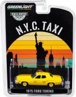 """1:64 FORD Torino """"NYC Taxi"""" (такси Нью-Йорка) 1975"""