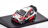 "1:43 TOYOTA Yaris WRC #9 ""Microsoft"" Lappi/Ferm Rally Italy 2018"