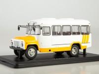 1:43 Курганский автобус 3270, белый / желтый
