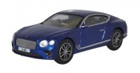 1:76 BENTLEY New Continental GT 2018 Peacock Blue