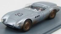 1:43 BORGWARD RS 1500 #33 Schauinsland With Racing Tracks 1958 Silver