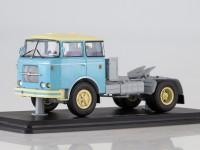 1:43 Skoda LIAZ 706 RTTN седельный тягач,голубой/бежевый