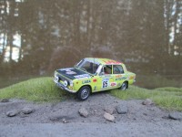 1:43 LADA-2101 A. Kozyrchikov, G. Kozyrchikova Rally of 1000 lakes Finland 1975