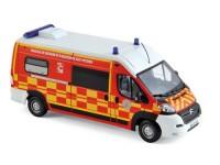 """1:43 CITROEN Jumper """"Pompiers-VSAV"""" (пожарная скорая медицинская помощь) 2013"""