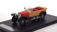 1:43 MERCEDES-BENZ 28/95 1922 Red/Wooden Optic
