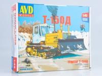1:43 Сборная модель Трактор Т-150 гусеничный с отвалом