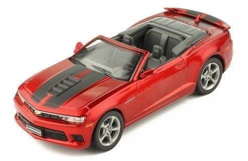 1:43 CHEVROLET Camaro Convertible 2014 Metallic Red/Black