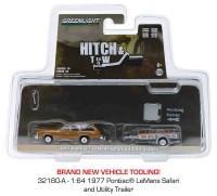 1:64 PONTIAC LeMans Safari с прицепом 1977