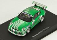 1:43 Porsche 911 (997) GT3 cup car 2006 (green livery)