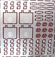 1:43 набор фототравления для Курганский автобус