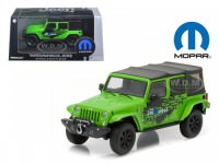1:43 JEEP Wrangler 4x4 Unlimited MOPAR Edition The Immortal Tribute 5-дв.(Soft Top) 2014 Green