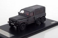 1:43 LAND ROVER Defender 110 6.2 Kahn Flying Huntsman 6x6 2015 Black