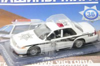 1:43 # 36 Ford Crown Victoria Полиция Мексики