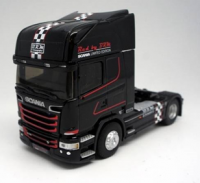 1:43 седельный тягач SCANIA R730 STREAMLINE TOPLINE BRM 2016 Black