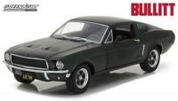 """1:24 FORD MUSTANG GT Fastback 1968 (из к/ф """"Буллит"""")"""