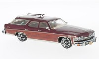 1:43 BUICK Le Sabre Estate Wagon 1974 Metallic Dark Red