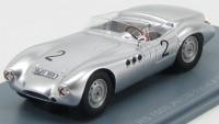 1:43 BORGWARD RS 1500 #.2 Avus 1958 Silver
