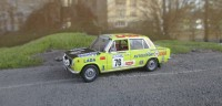 1:43 LADA-2101 K. Girdauskas, A. Girdauskas Rally of 1000 Lakes Finland 1975