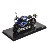 1:24 мотоцикл SUKUZI GSX-R 1000 Blue/Light Blue/White