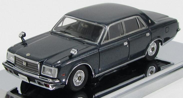 1:43 Toyota Century E-VG40 (metallic blue)