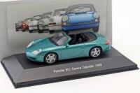 1:43 PORSCHE 911 Carrera 2 Cabriolet (996) 1999 Green