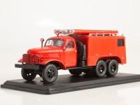 1:43 Пожарный автомобиль химического пенного тушения ПМЗ-16