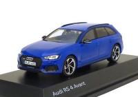 1:43 AUDI RS 4 Avant 2017 Nogaro Blue