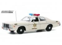 "1:18 DODGE Coronet ""Hazzard County Sheriff"" 1975"