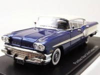 1:43 PONTIAC Star Chief Sedan (4 двери) 1958 Metallic Blue/White